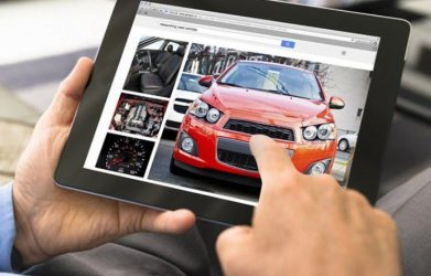 mua ô tô trực tuyến